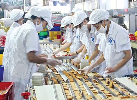 xử lý nước thải sản xuất bánh