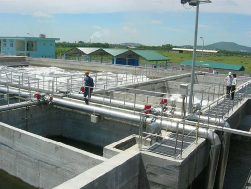 Hệ thống xử lý nước thải khu công nghiệp
