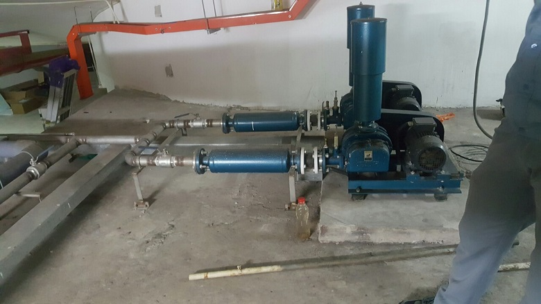 Máy thổi khí hệ thống xử lý nước thải chung cư